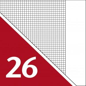 Lineatur 26 (Heft A4)